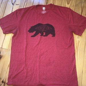 Northface t-shirt size Large. Good condition.